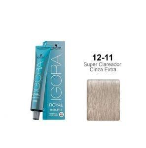 Tintura Igora Highlifts 12.11 Super Clareador Cinza Extra