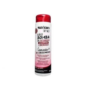 Shampoo Salon Line Sos Bomba Liberado 300Ml