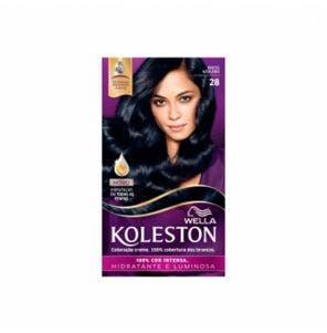 Tintura Koleston Kit 2.8 Preto Azulado