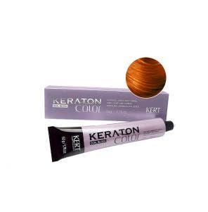 Tintura Keraton Color Dual Block 8.34 Louro Claro Dourado Acobreado