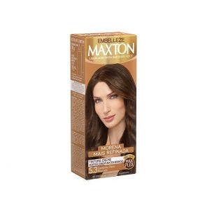 Tintura Maxton Kit Pratico 5.3 Castanho Claro Dourado