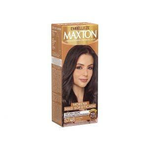 Tintura Maxton Kit Pratico 57.48 Marrom Marroquino