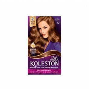 Tintura Koleston Kit 7.7 Marrom Dourado