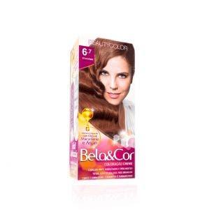 Tintura Bela Cor Mini Kit 6.7 Chocolate