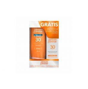 Protetor Solar Cenoura e Bronze FPS30 200ml Gts FPS30 Fac 50g