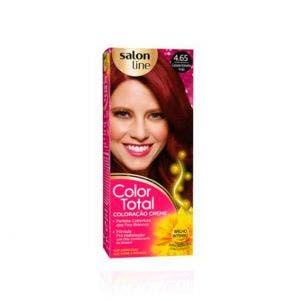 Tintura Color Total 4.65 Castanho Vermelho Acaju