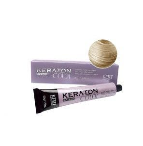 Tintura Keraton Color Dual Block 9.1 Louro Medio Claro Cinza