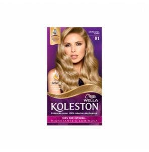 Tintura Koleston Kit 8.1 Louro Cinza Claro
