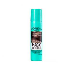 Spray Retoque De Raiz Magic Retouch Castanho Escuro