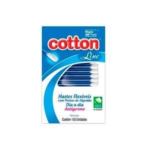 Hastes Flexíveis Cotton Line Visor c/150un