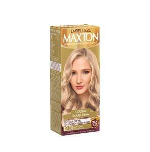 Tintura Maxton 12.01 Louro Extra Claro