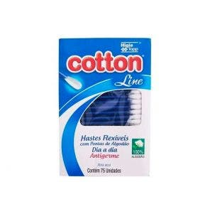 Hastes Flexíveis Cotton Line Visor c/75un