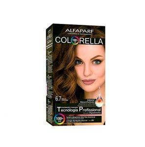 Tintura Colorella 6.7 Marrom Chocolate
