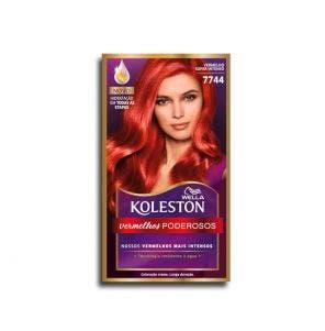Tintura Koleston Kit Verm Esp 77.44 Verm Super Intens