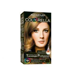Tintura Colorella 7.7 Marrom Dourado