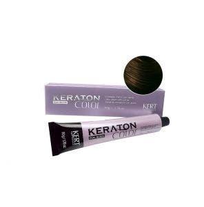 Tintura Keraton Color Dual Block 6.77 Louro Escuro Marrom Intenso