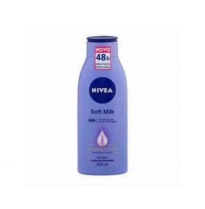 Loção Hidratante Nivea Soft Milk Pele Seca 400ml