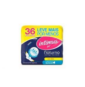 Absorvente Intimus com Abas Noturno Suave c/36un