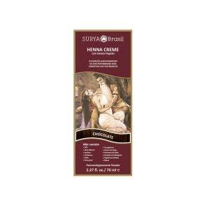 Henna Creme Natural Surya Chocolate 70ml
