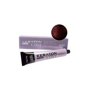 Tintura Keraton Color Dual Block 4.65 Castanho Medio Vermelho Acaju