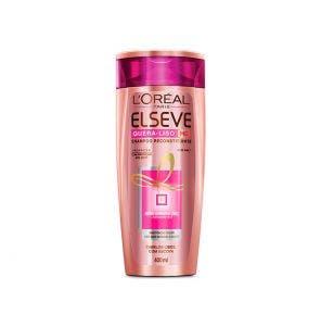 Shampoo Elseve Quera Liso Reconstituinte 400ml