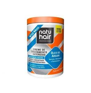 Creme De Tratamento Natu Hair Intensivo Oleo De Argan 1Kg