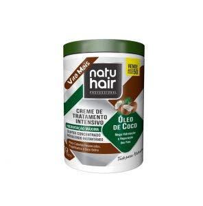 Creme De Tratamento Natu Hair Intensivo Oleo De Coco 1Kg