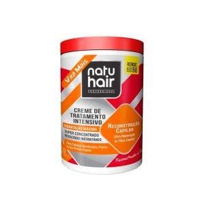 Creme De Tratamento Natu Hair Intensivo Reconstrucao Capilar 1Kg