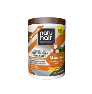 Creme Para Pentear Natu Hair Mandioca 1Kg