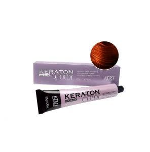 Tintura Keraton Color Dual Block 7.47 Louro Medio Acobreado Marrom