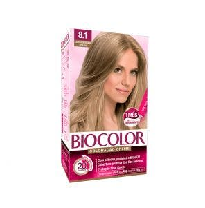 Tintura Biocolor Mini Kit 8.1 Louro Acinzentado