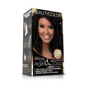 Tintura Beauty Color Kit 4.0 Castanho Natural