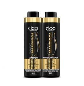 Kit Shampoo + Condicionador Eico Tratamento Mandioca 800ml