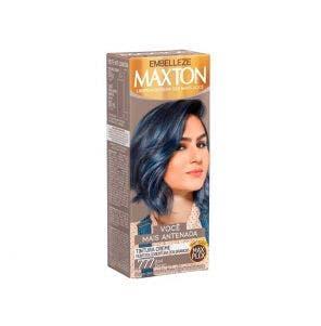 Tintura Maxton Kit Pratico 7.77 Azul Denim