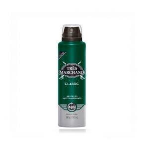 Desodorante Aerosol Tres Marchand Classic 150ml