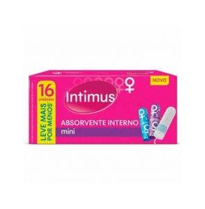Absorvente Intimus Interno Mini c/16un