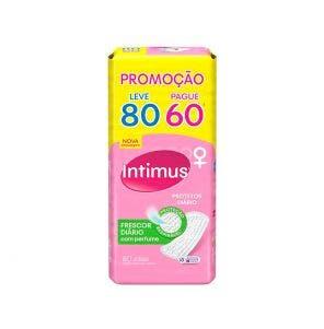 Protetor Diário Intimus sem Abas c/Perf Lv80 Pg60