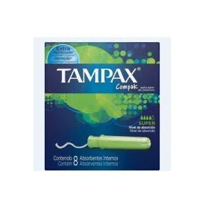 Absorvente Tampax Compak Super C/8