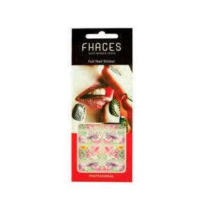 Adesivo Para Unhas Artisticas Fhaces Flores Coloridas