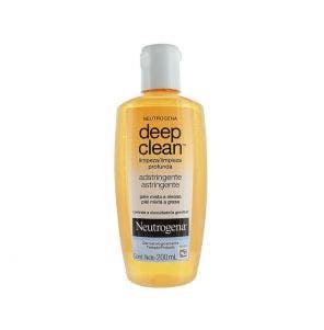 Adstringente Facial Neutrogena Deep Clean 200ml