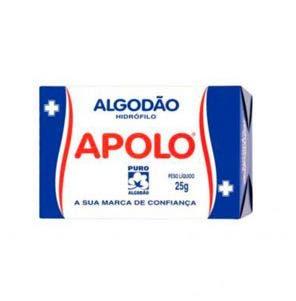 Algodao Apolo Caixa 25G