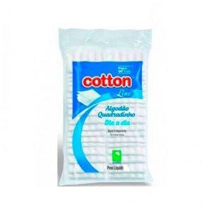 Algodão Cotton Line Quadrado Facial Dia A Dia 40g