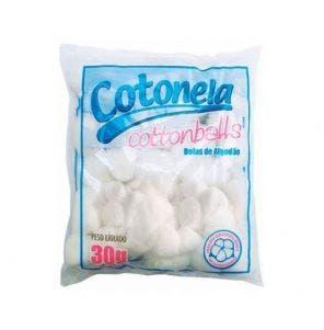 Algodão Cottonballs Bolas Brancas 50G