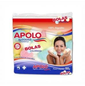 Algodao Apolo Bolas Coloridas 50G