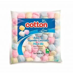 Algodao Cotton Line Bolas Coloridas Dia A Dia 95G