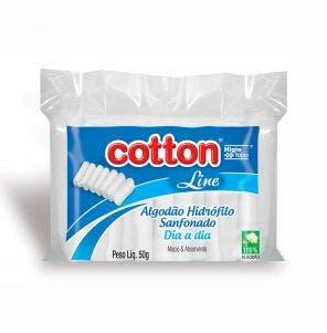 Algodao Cotton Line Sanfonado Dia A Dia 50G