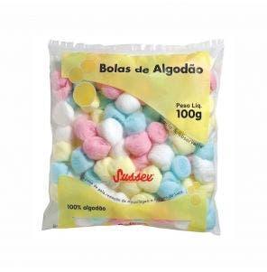 Algodao Sussex Bolas Coloridas 100G