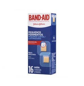 Band Aid Pequenos Ferimentos c/16un