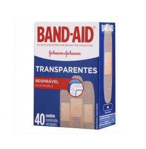 Band Aid Transparente c/40un