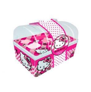 Bau De Maquiagem Hello Kitty